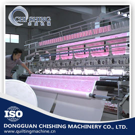 110 Inches Mesin Quilting Komputerisasi 3,5 KW Rating Power, 200-500 RPM Speed